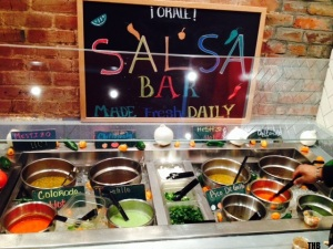 District Taco Salsa Bar