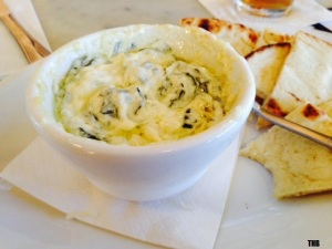 Open City Spinach and Roasted Garlic Dip