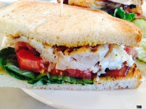 Open City Grilled Tilapia BLT